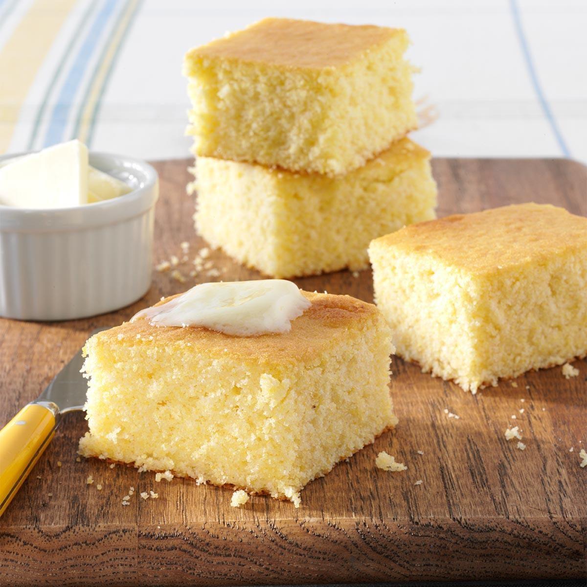 Easy Cornbread Cake Recipe
