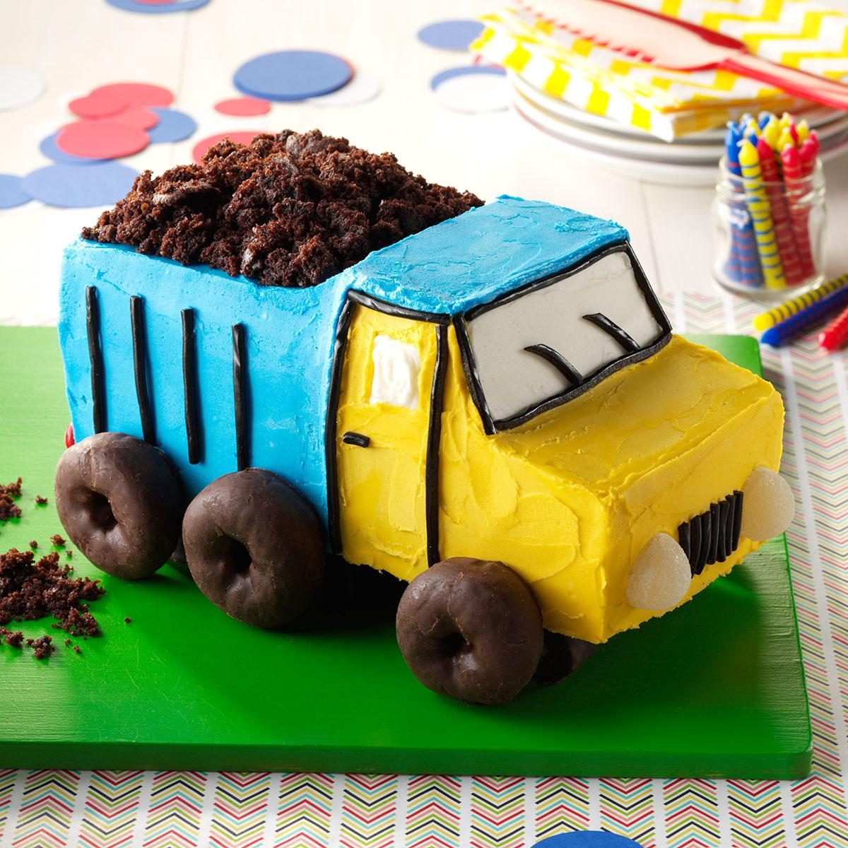 How To Make A Monster Truck Cake Video
