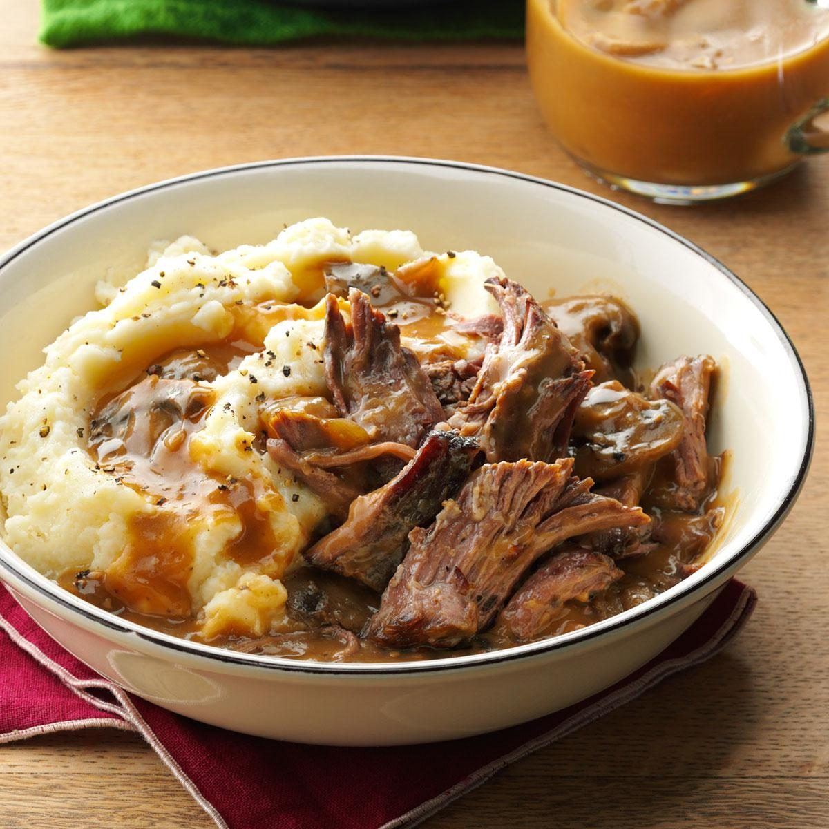 Slow cooker pot roast recipe taste of home - Quince recipes for babies a healthy fall ...