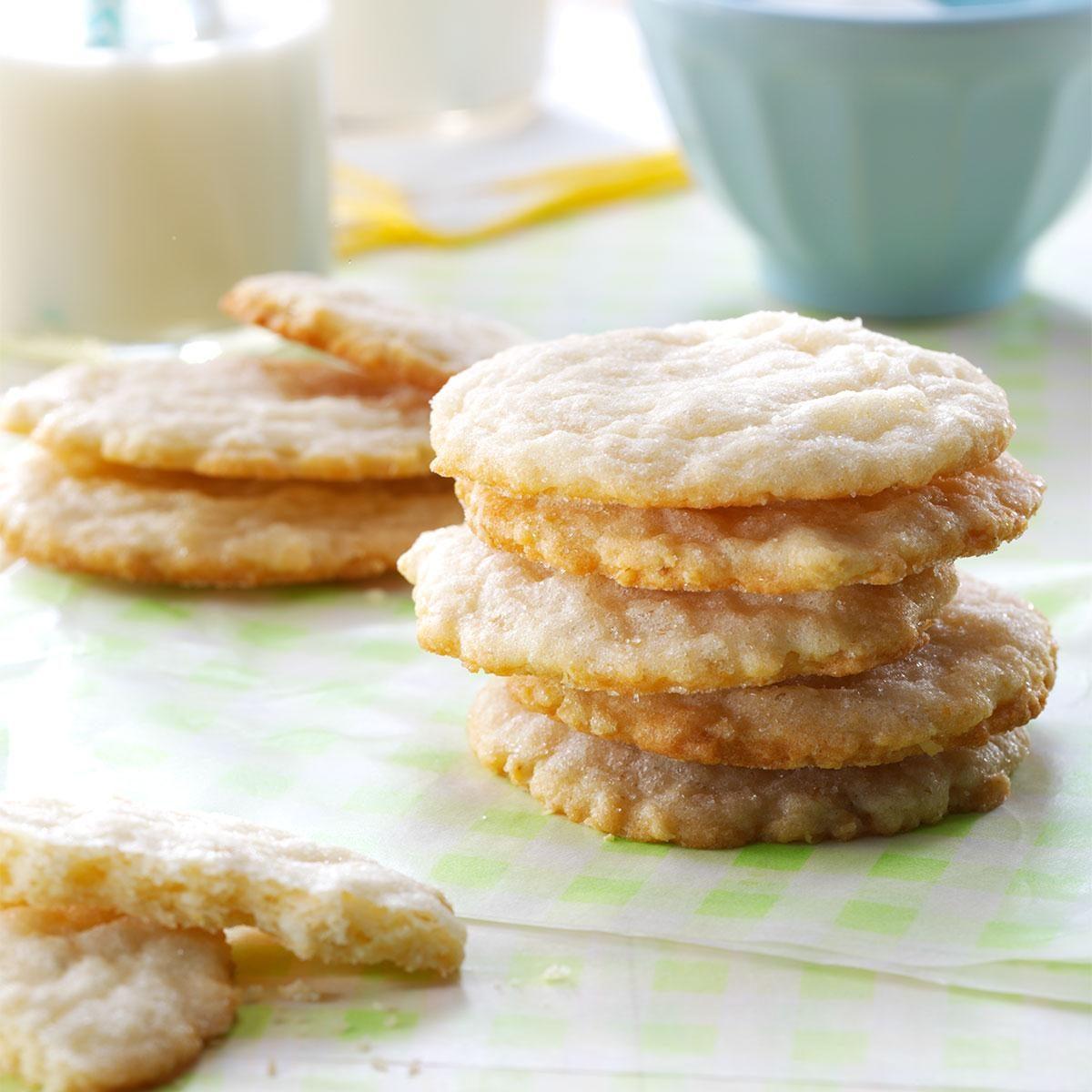Lemon Oatmeal Sugar Cookies Recipe | Taste of Home