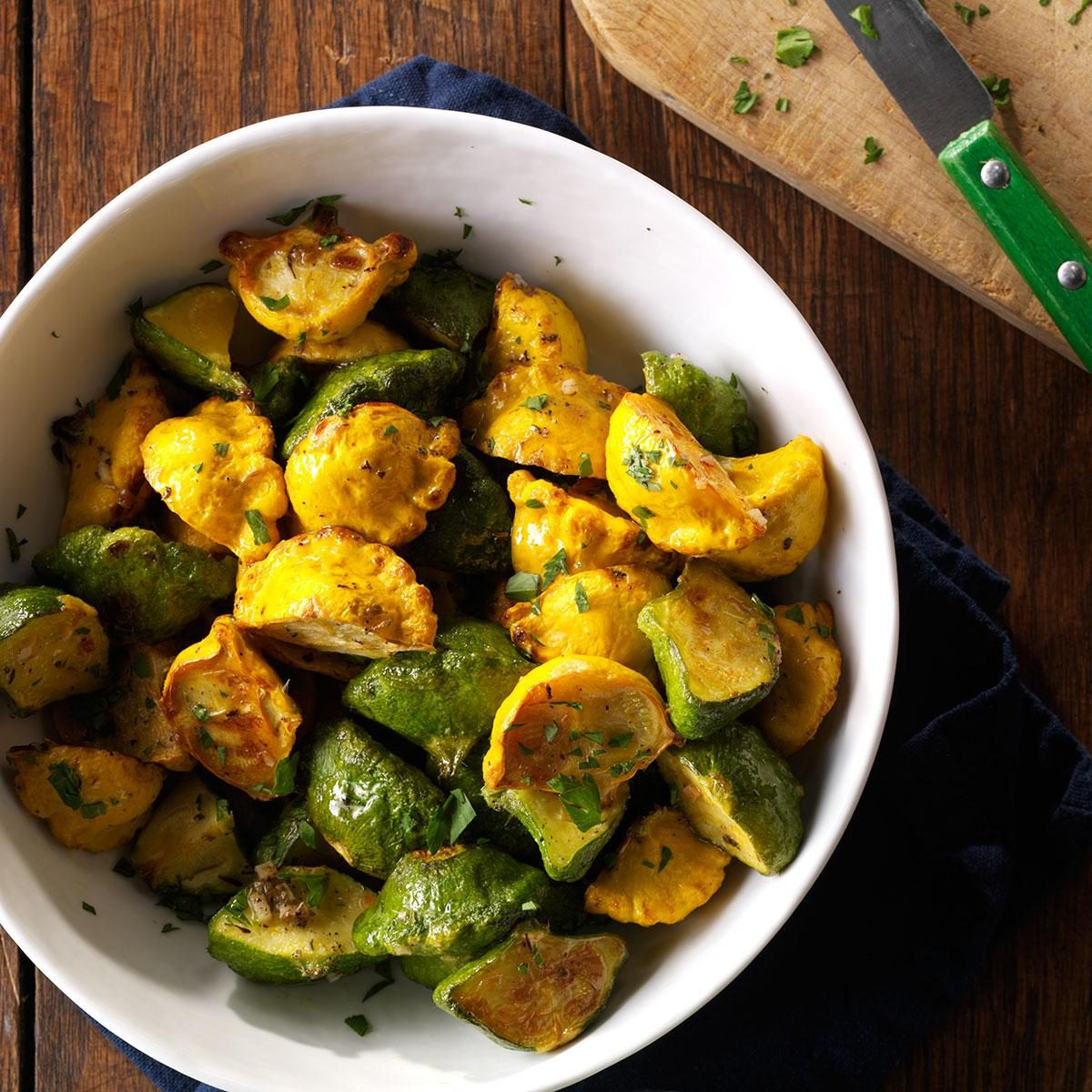 how to cook patty pan squash recipes