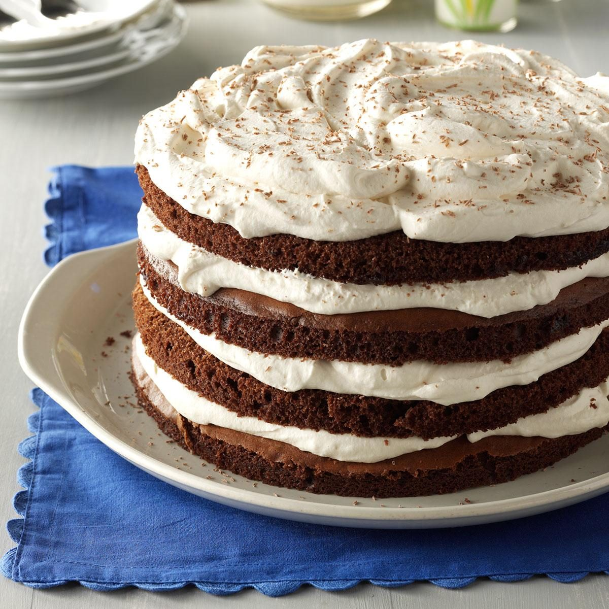 Chocolate Bavarian Torte Recipe Taste Of Home