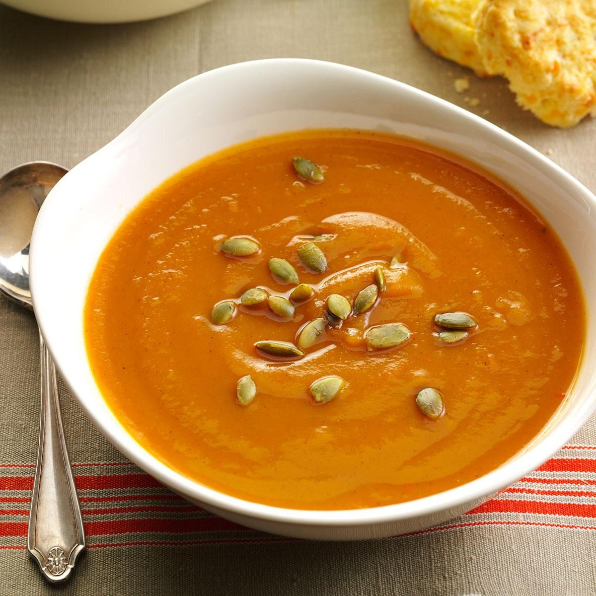 Spiced Sweet Potato Soup Recipe