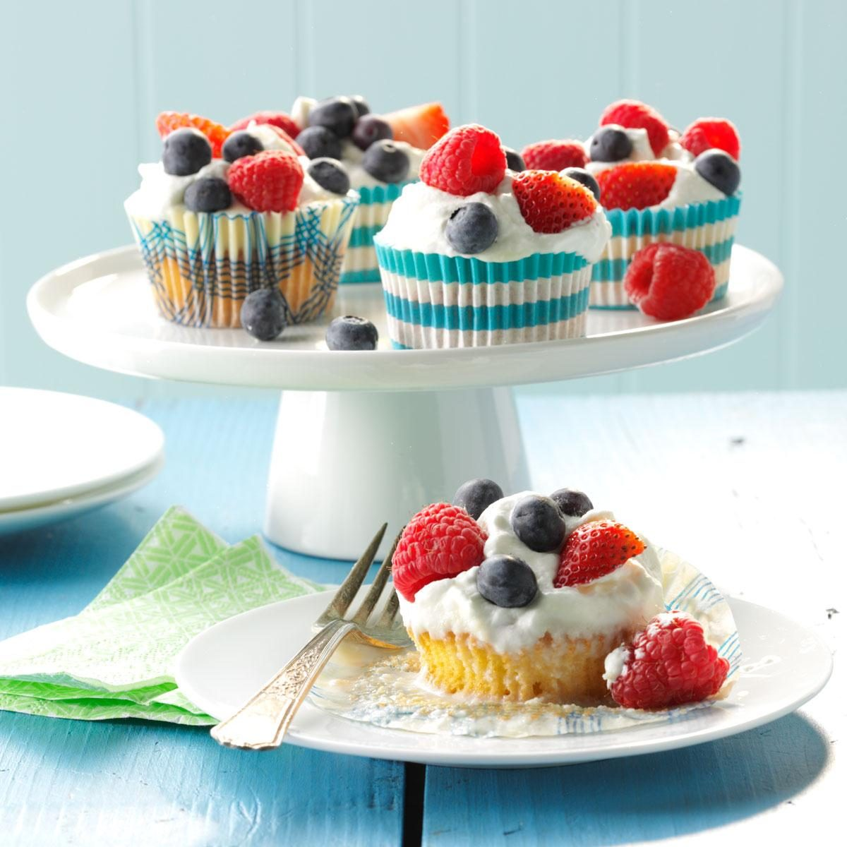 Tres Leches Cupcakes Recipe   Taste of Home