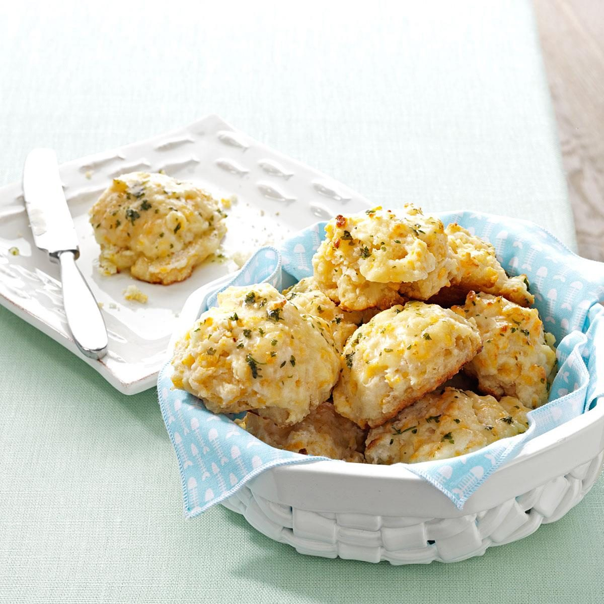Makeover Cheddar Biscuits Recipe