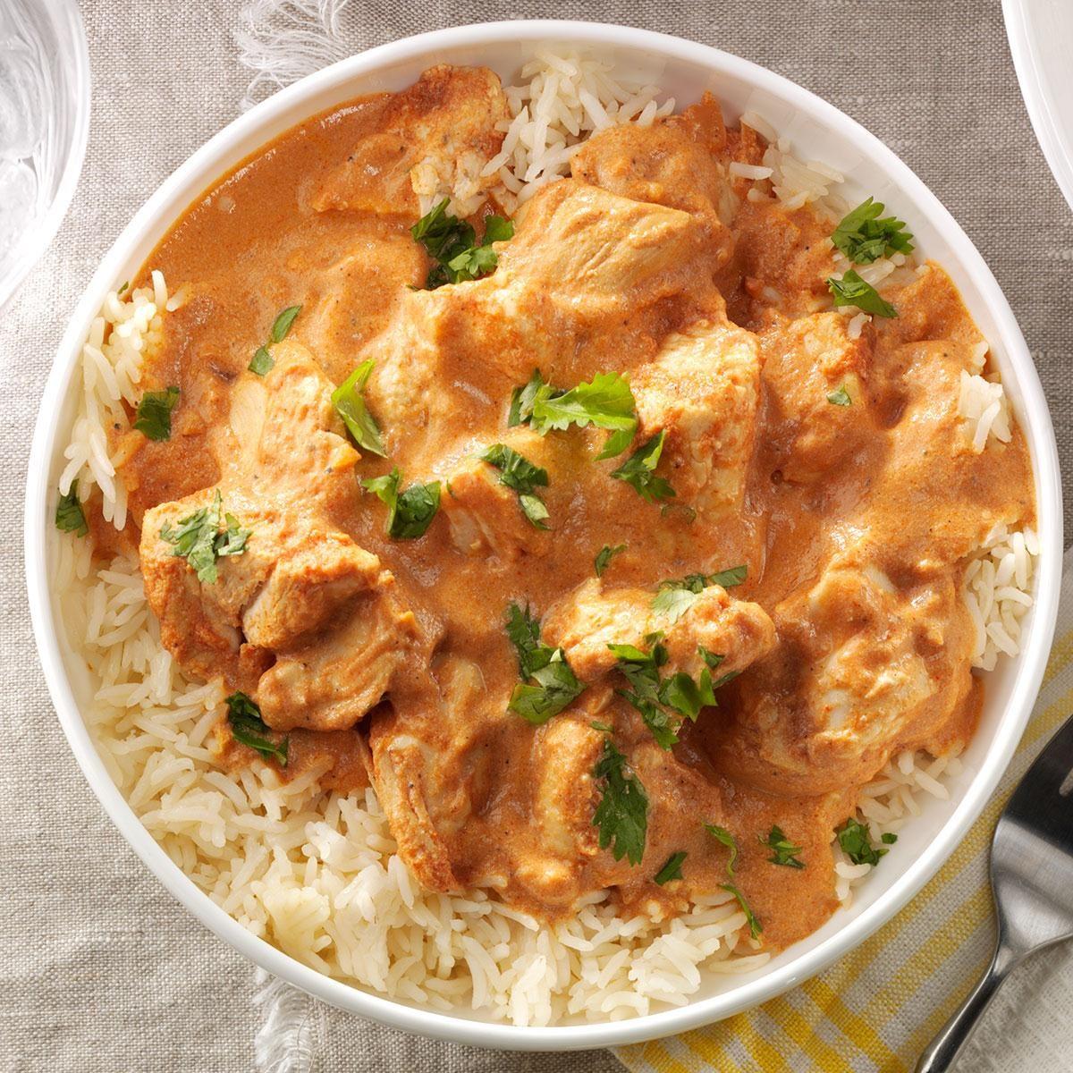 Watch Chicken Tikka Masala Slow Cooker Recipe video
