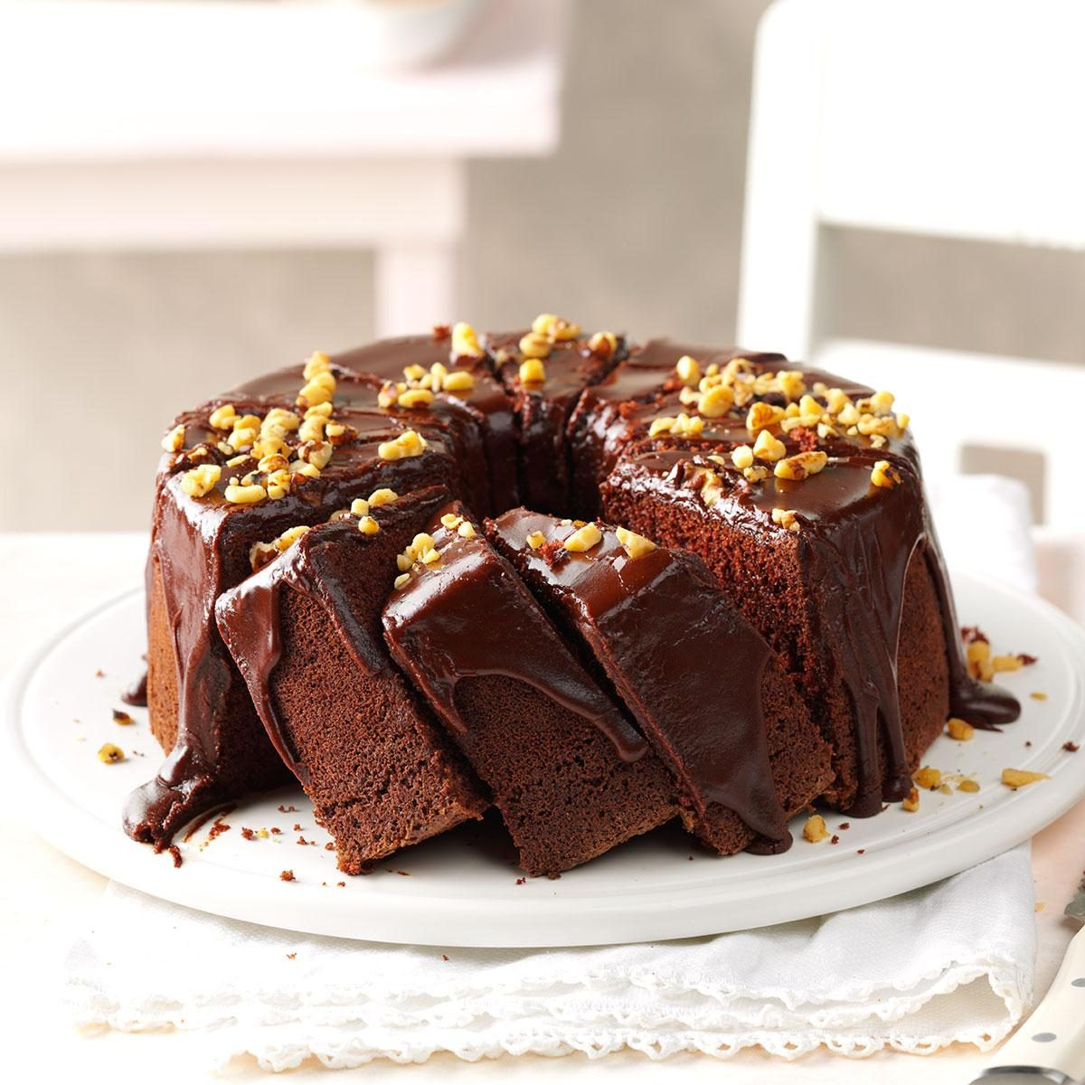 Chocolate Chiffon Cake Recipe  Recipe