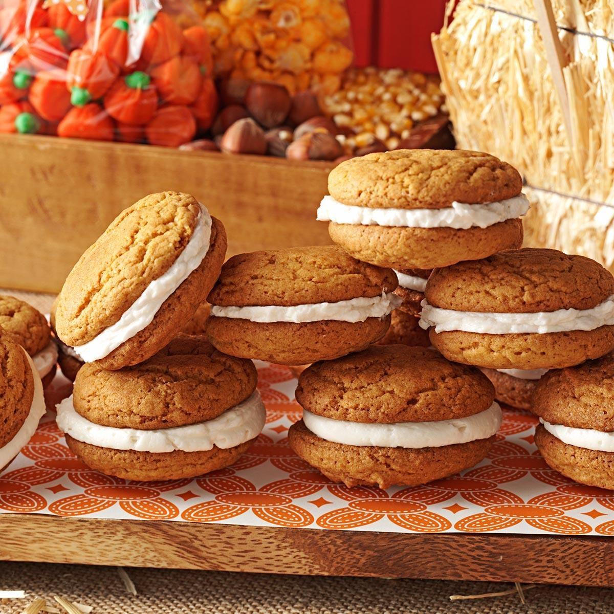 Pumpkin Whoopie Pies Recipe | Taste of Home