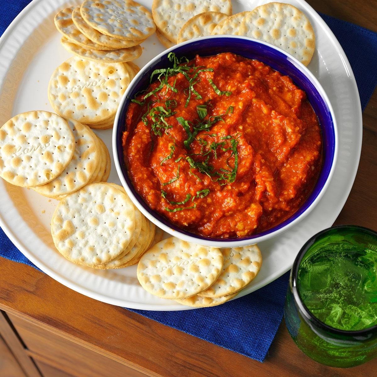 Roasted Red Pepper Tapenade Recipe | Taste of Home