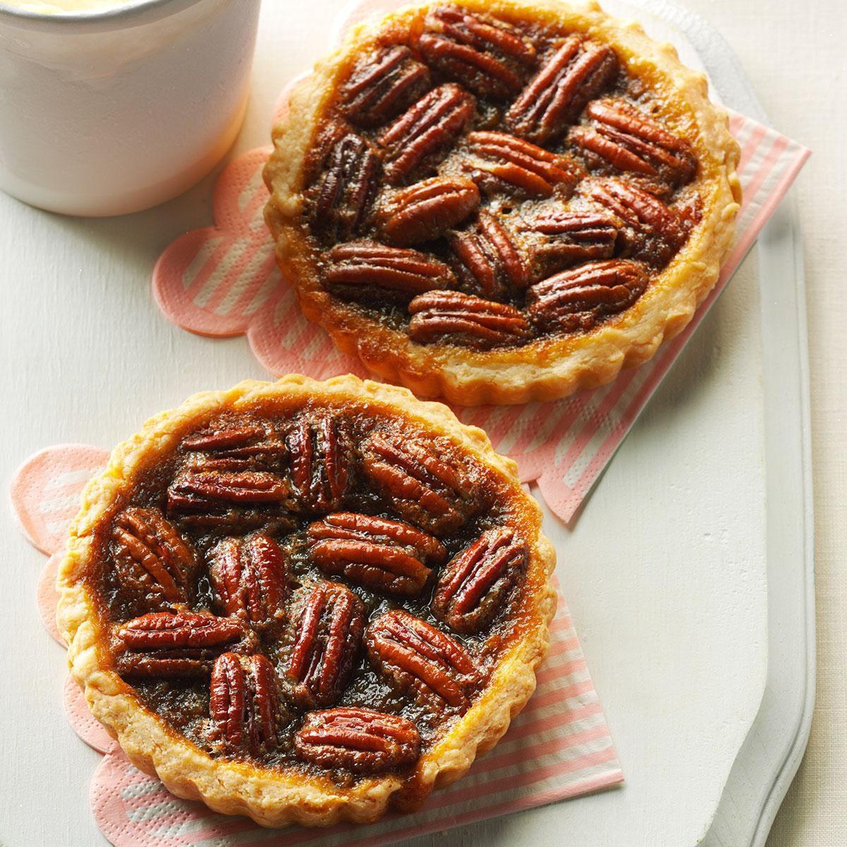 Maple Pecan Tarts Recipe | Taste of Home