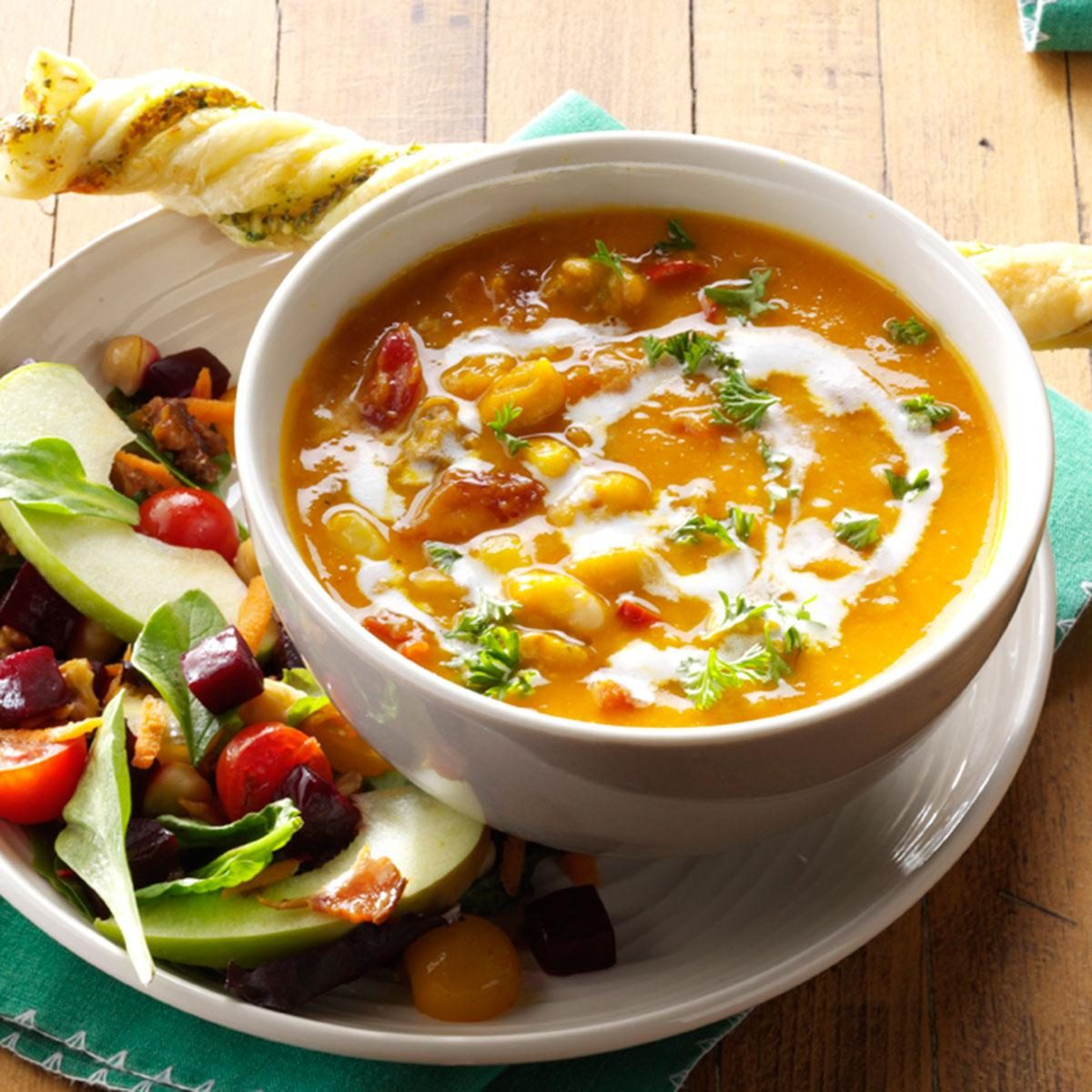 Hearty Butternut Squash Soup Recipe | Taste of Home