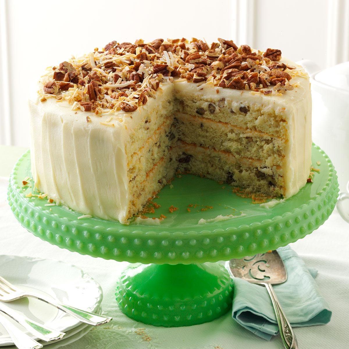 Last Minute Coconut Cake Recipe