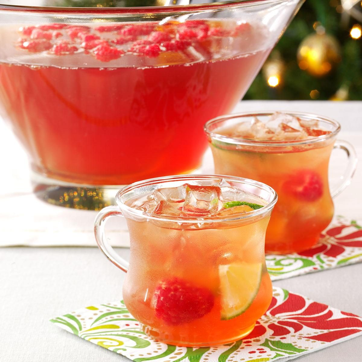 Festive Holiday Punch Recipe
