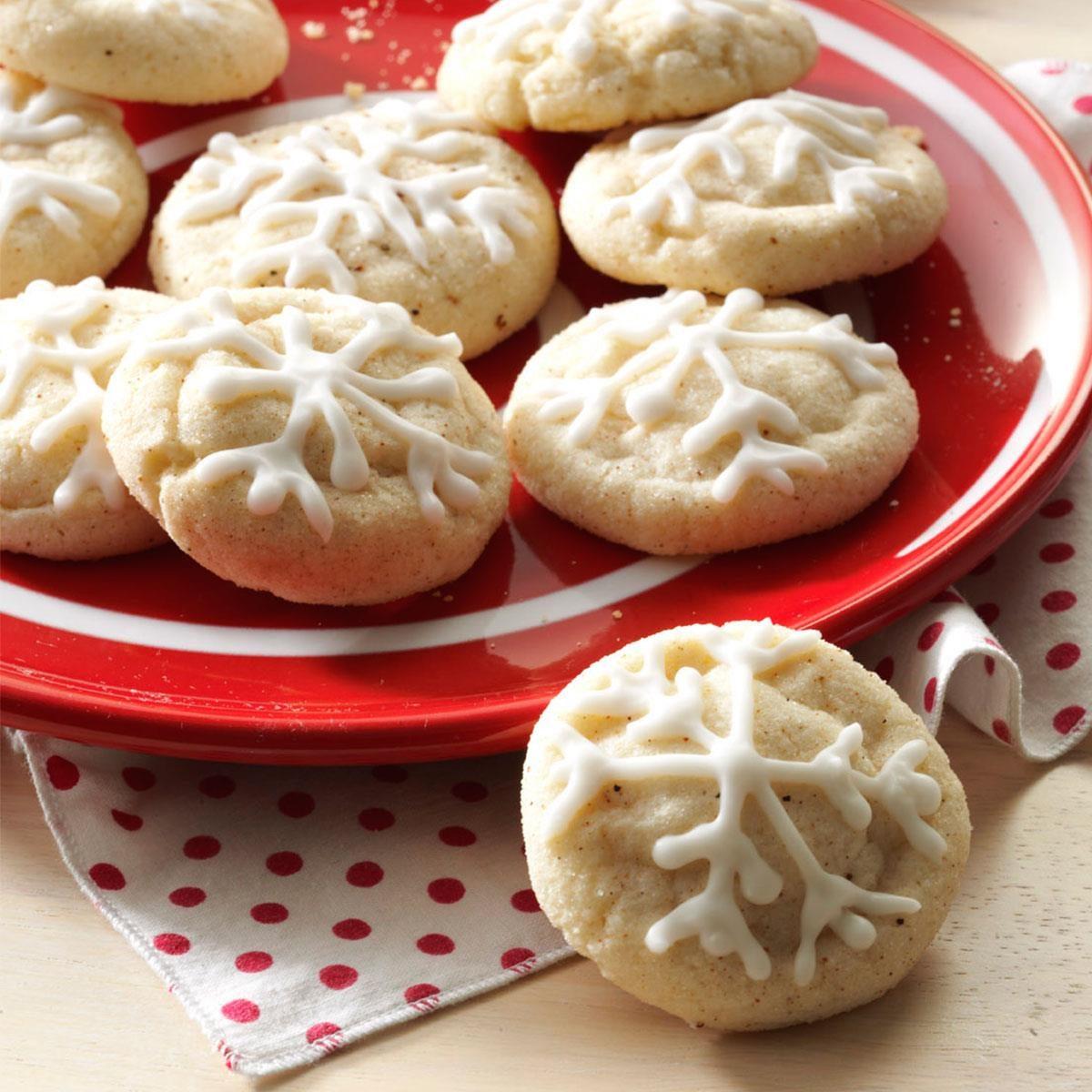 Holiday Eggnog Snickerdoodles Recipe   Taste of Home