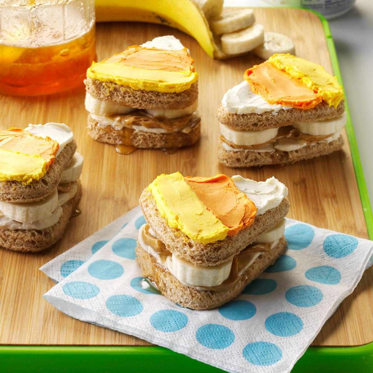 Cute Halloween Sandwiches Recipe