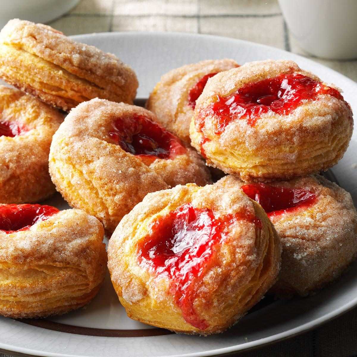Cinnamon Fruit Biscuits Recipe