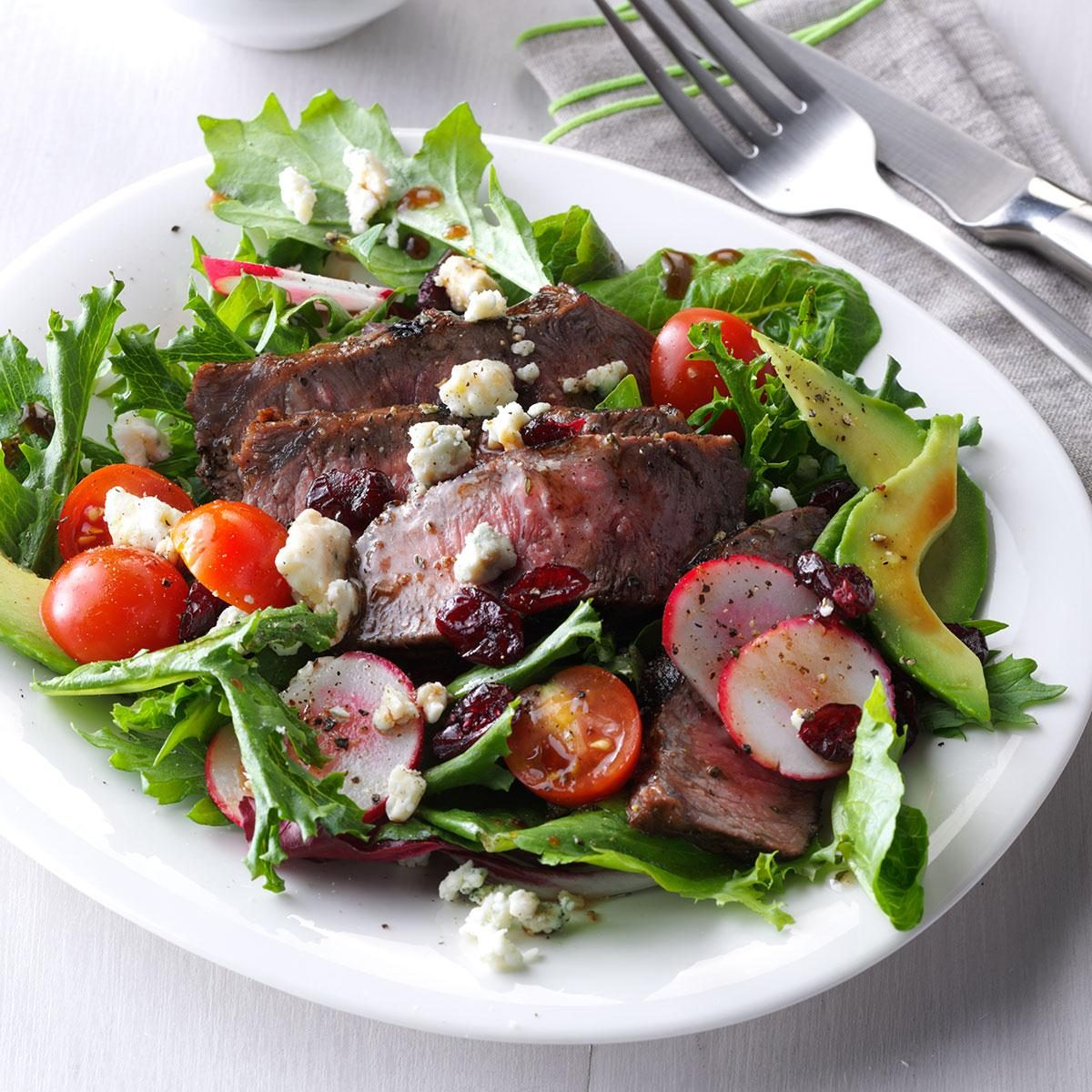 Balsamic Steak Salad Recipe | Taste of Home