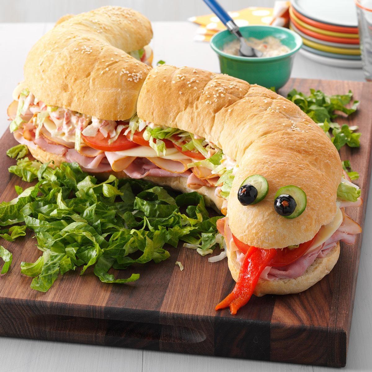 snake sandwich gallery