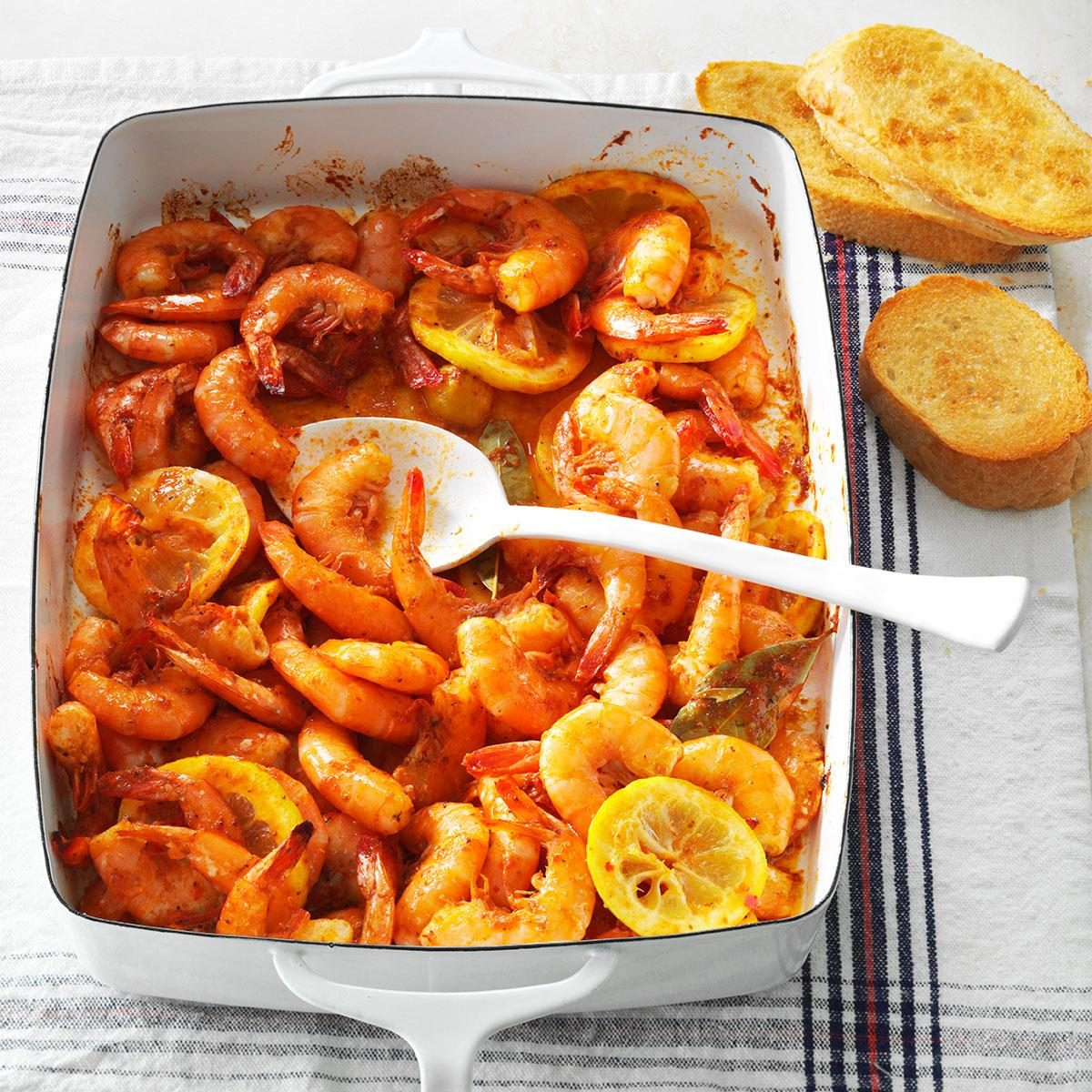 New Orleans Style Spicy Shrimp Recipe Taste Of Home