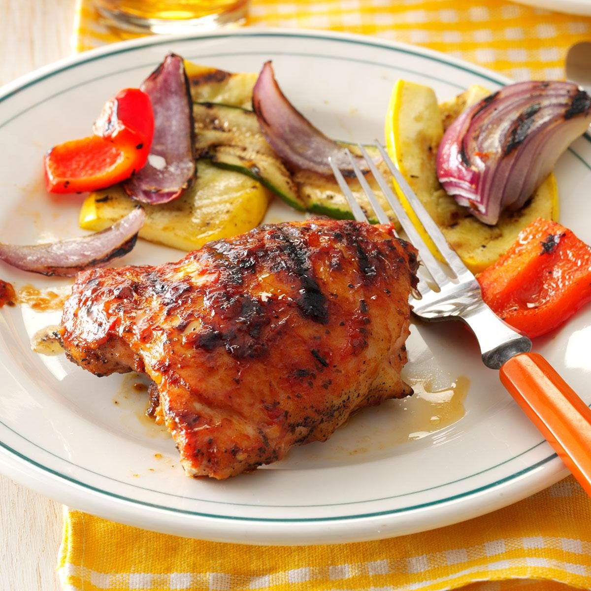 The best recipe for grilled chicken