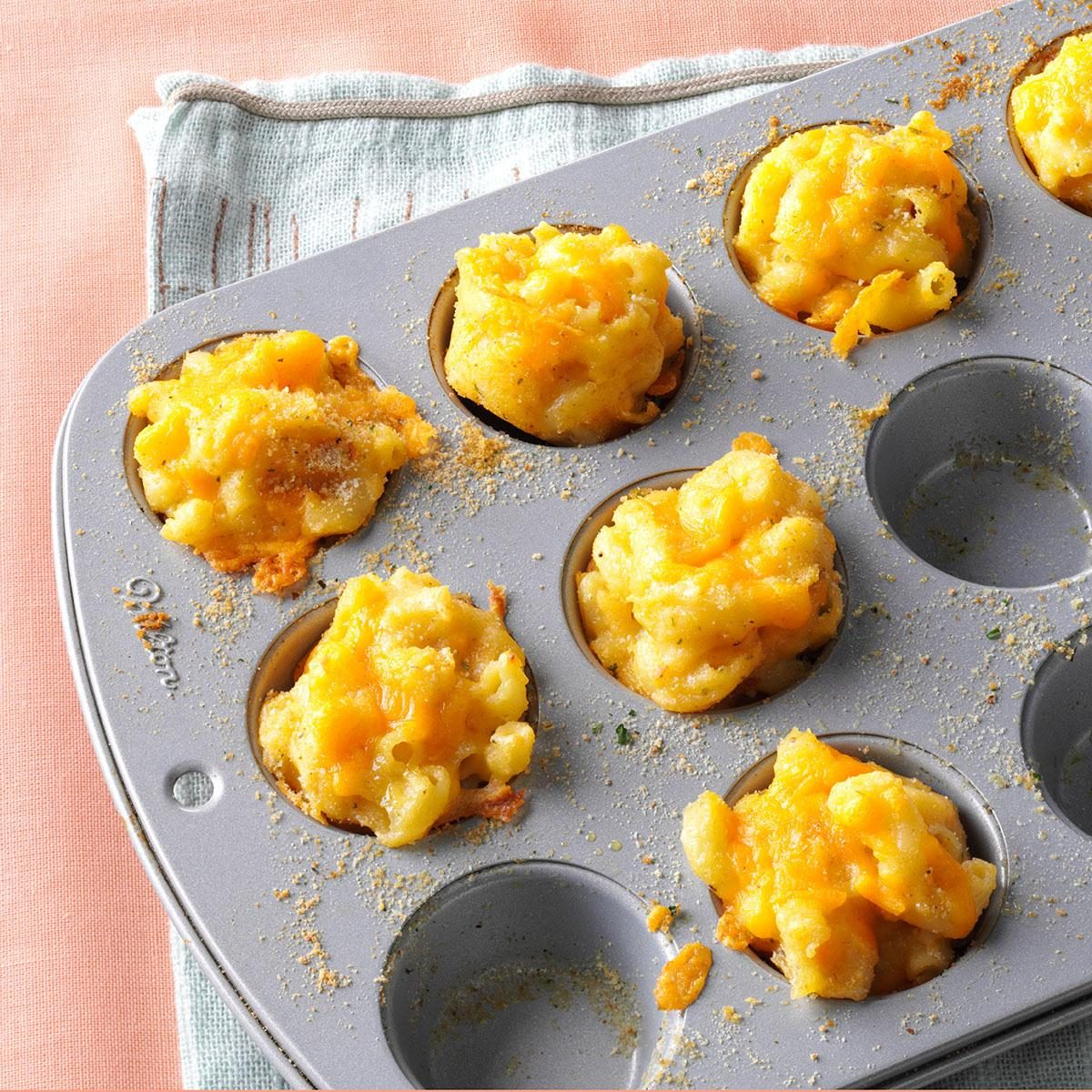 Mini Mac & Cheese Bites Recipe