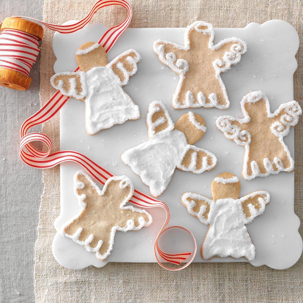 Snow Angel Cookies Recipe | Taste of Home