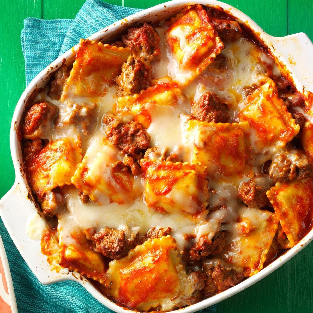 Ravioli Lasagna Recipe | Taste of Home