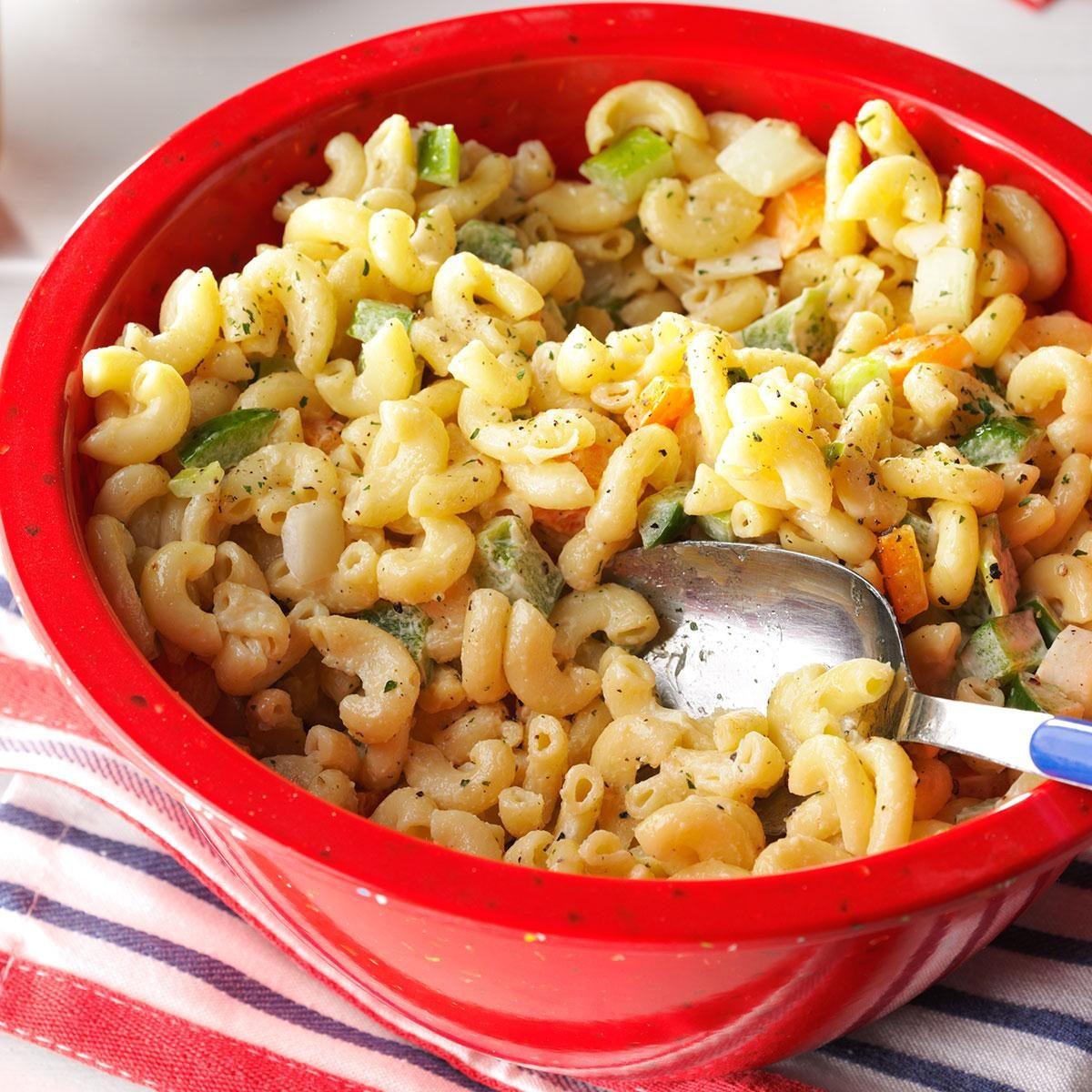 Summer Macaroni Salad Recipe Taste Of Home