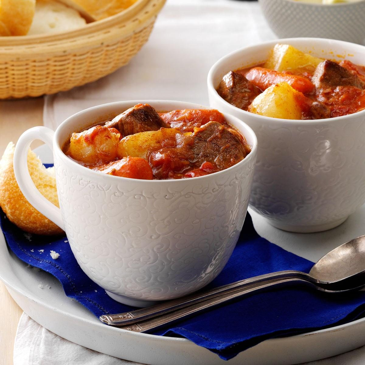 Hearty Busy-Day Stew Recipe | Taste of Home