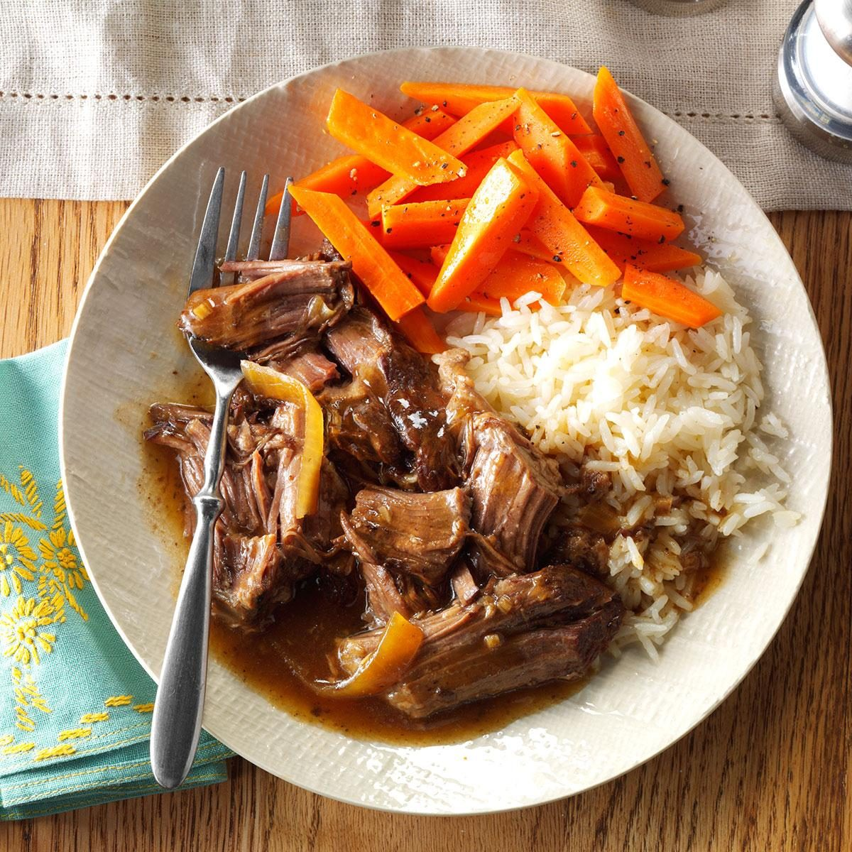 pot roast crock pot soy pot roast recipe taste of home 11244