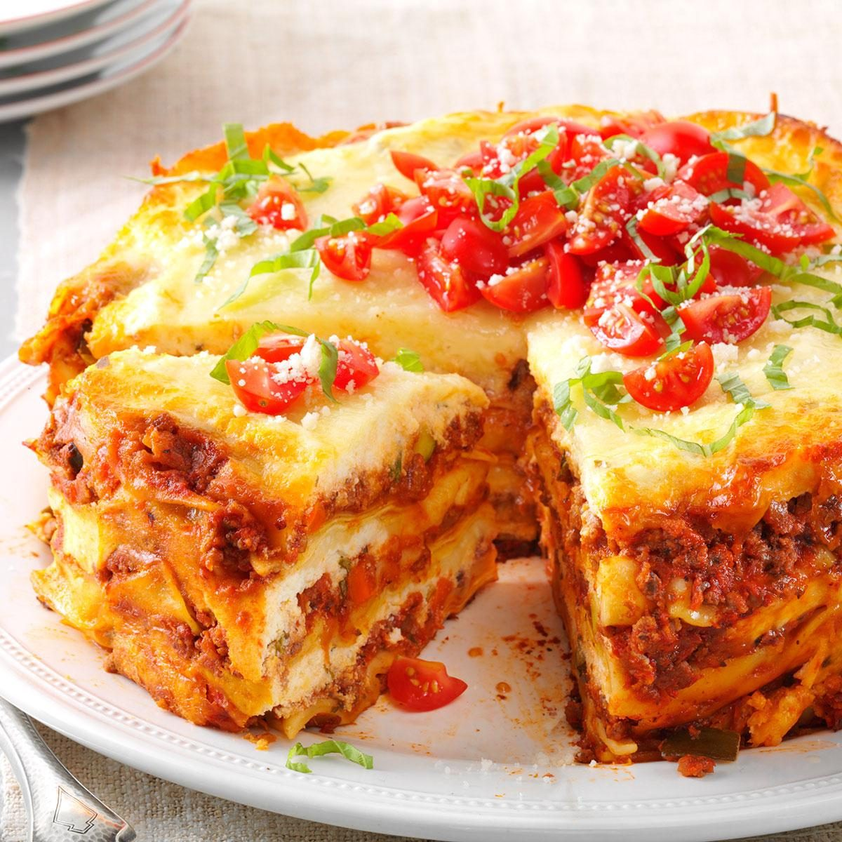Hearty Slow Cooker Lasagna Recipe | Taste of Home