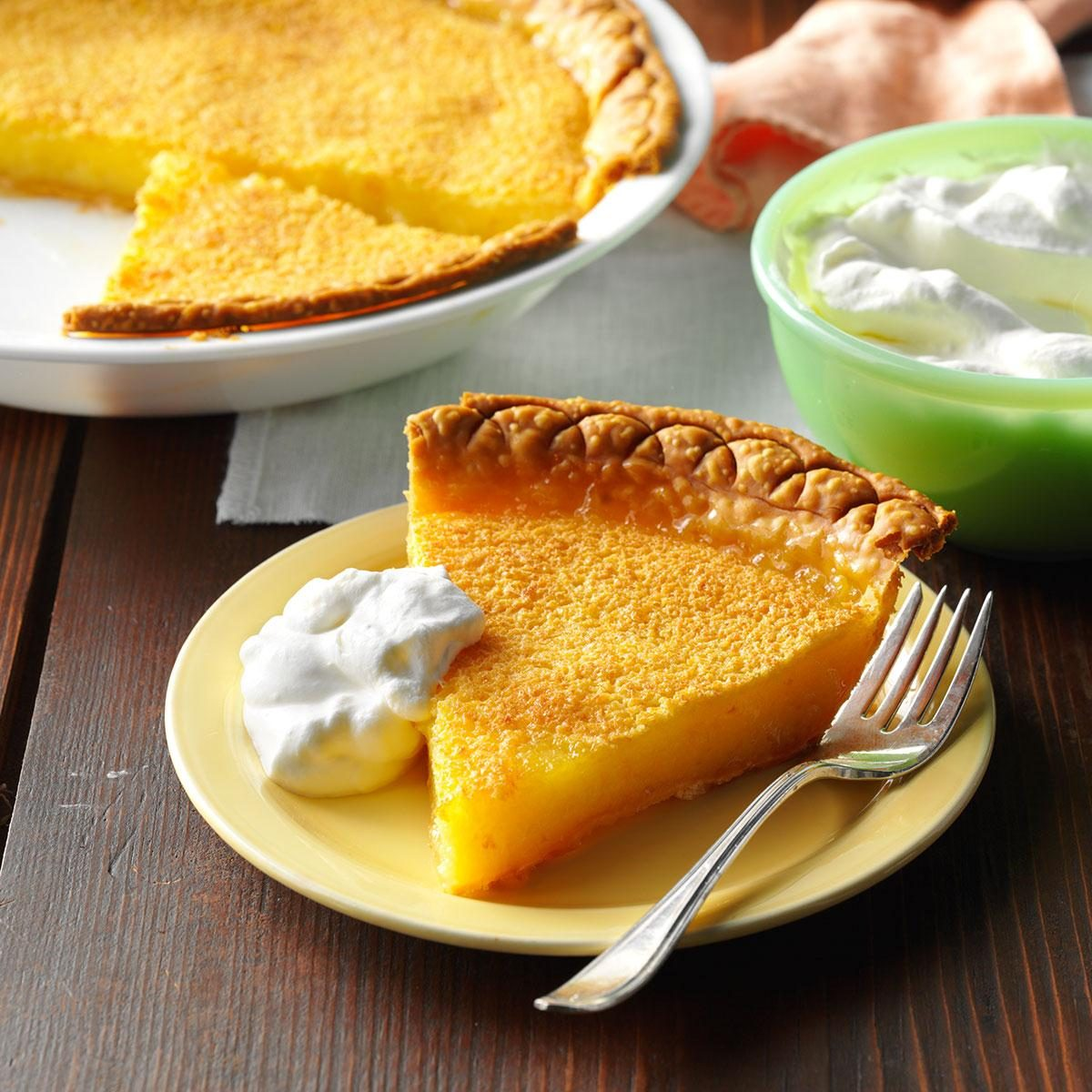 Easy Lemon Pie Recipe