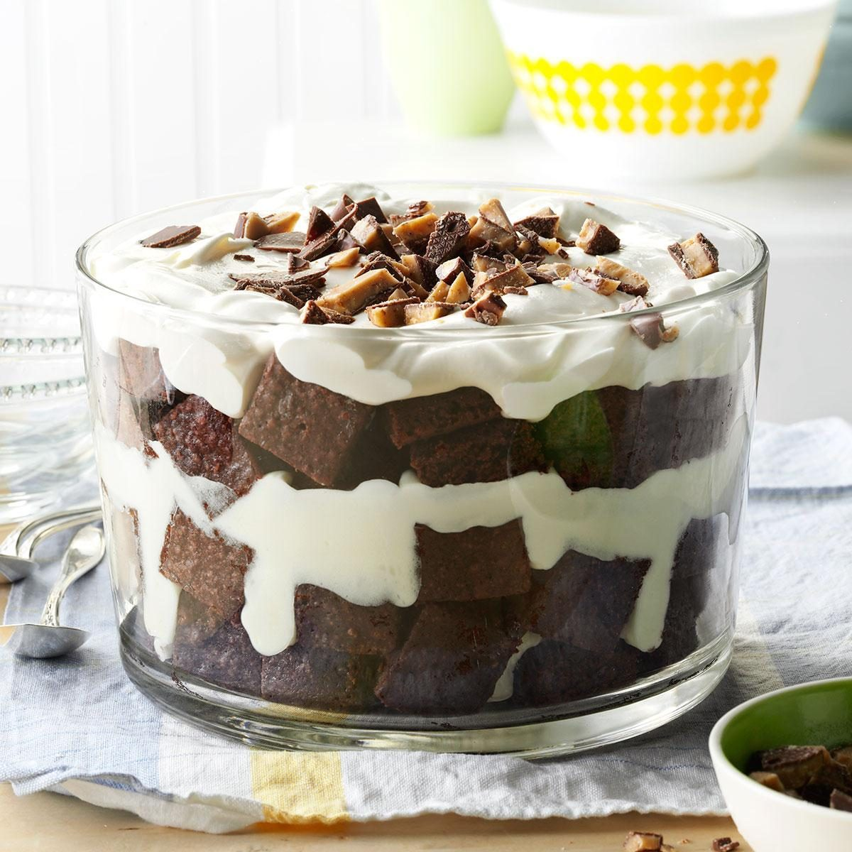 Toffee Brownie Trifle Recipe Taste Of Home