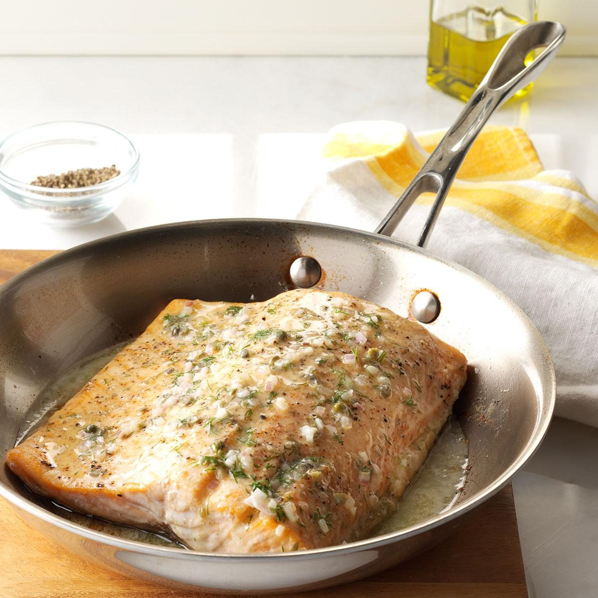 Oven-Roasted Salmon Recipe