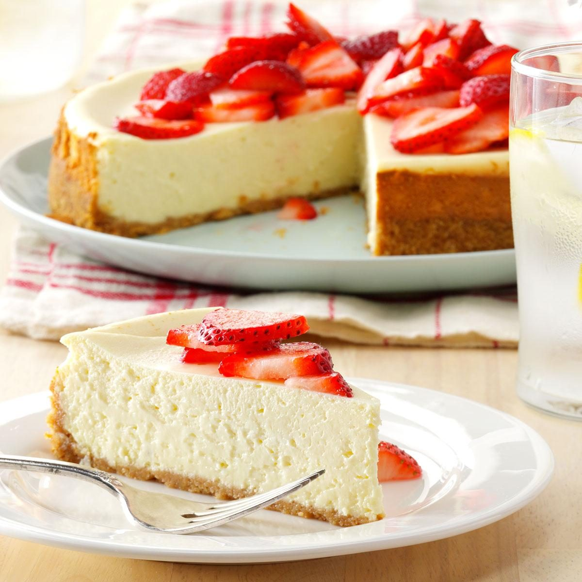 Light Cheesecake Recipe | Taste of Home
