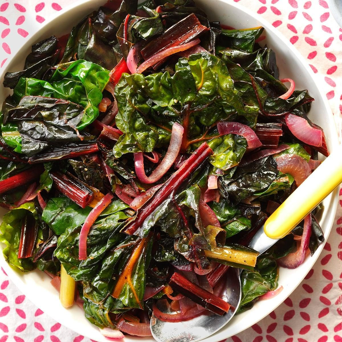 Garden-Fresh Rainbow Chard Recipe | Taste of Home