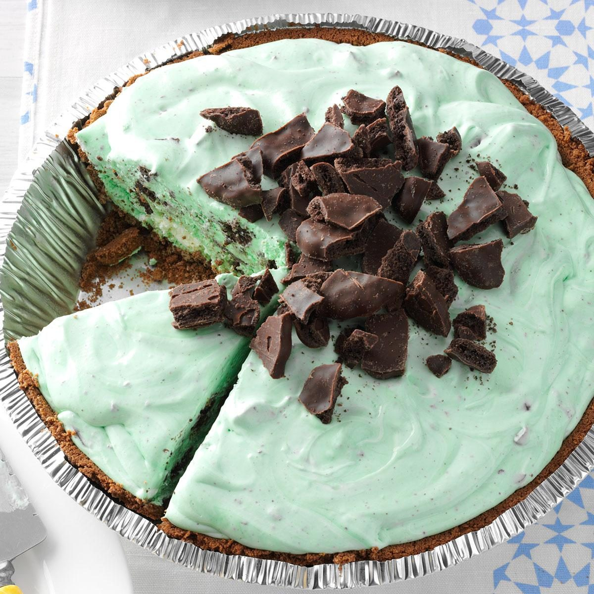 Grasshopper Pie Recipe | Taste of Home
