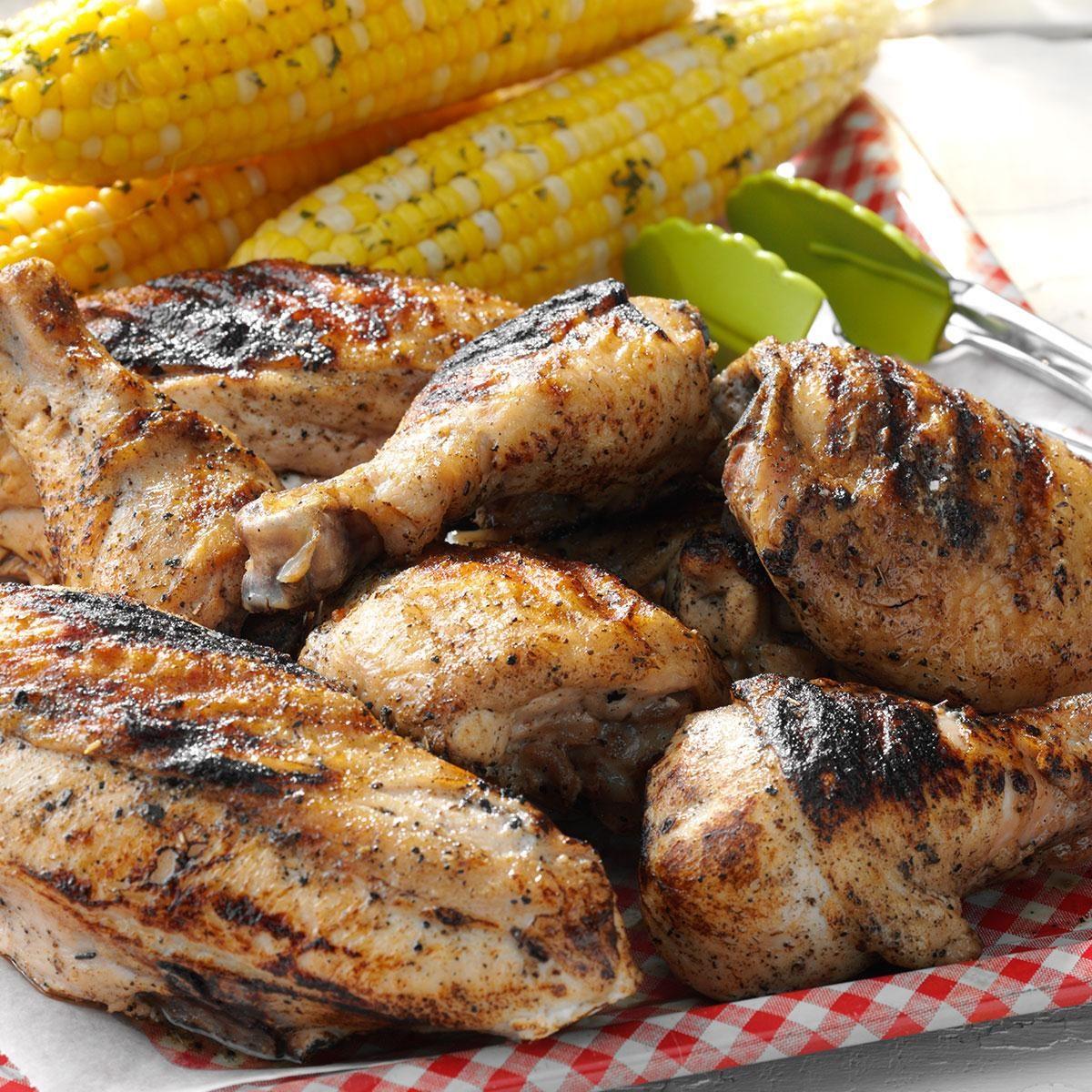 Grilled Picnic Chicken Recipe