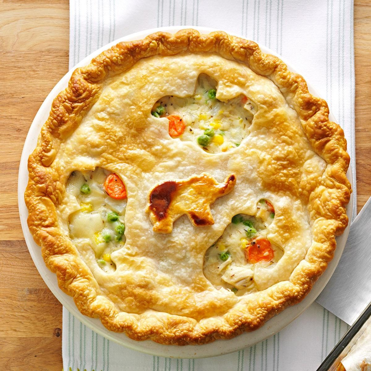 Favorite Chicken Pot Pie22 Freezer Meal Recipes   Taste of Home. Good Quick Dinner For Two. Home Design Ideas