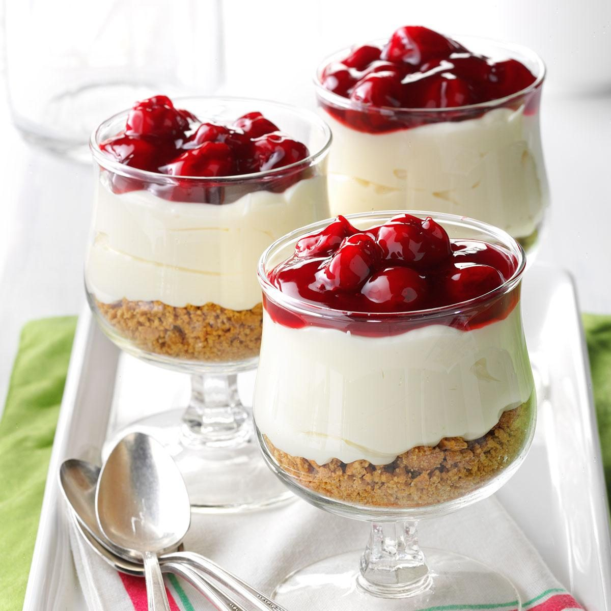 Angel Food Cake Cream Cheese Cherries