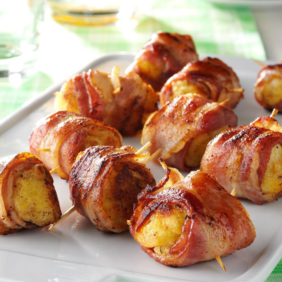 Bacon Roll-Ups Recipe | Taste of Home