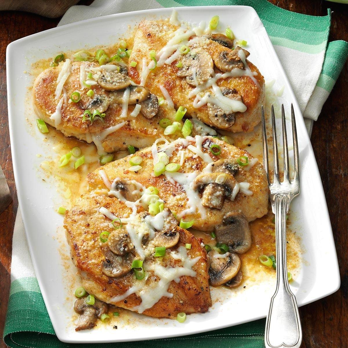 Baked Mushroom Chicken Recipe