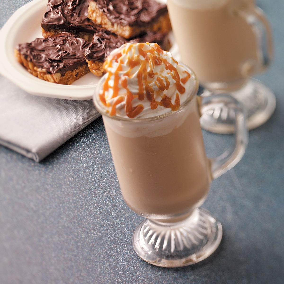 Frosty Caramel Cappuccino Recipe Taste Of Home