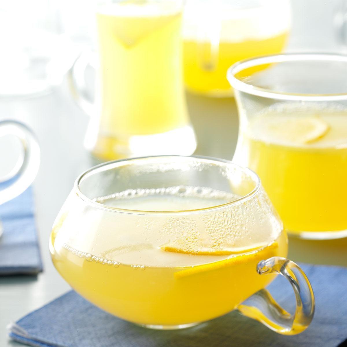 Hot Spiced Lemon Drink Recipe