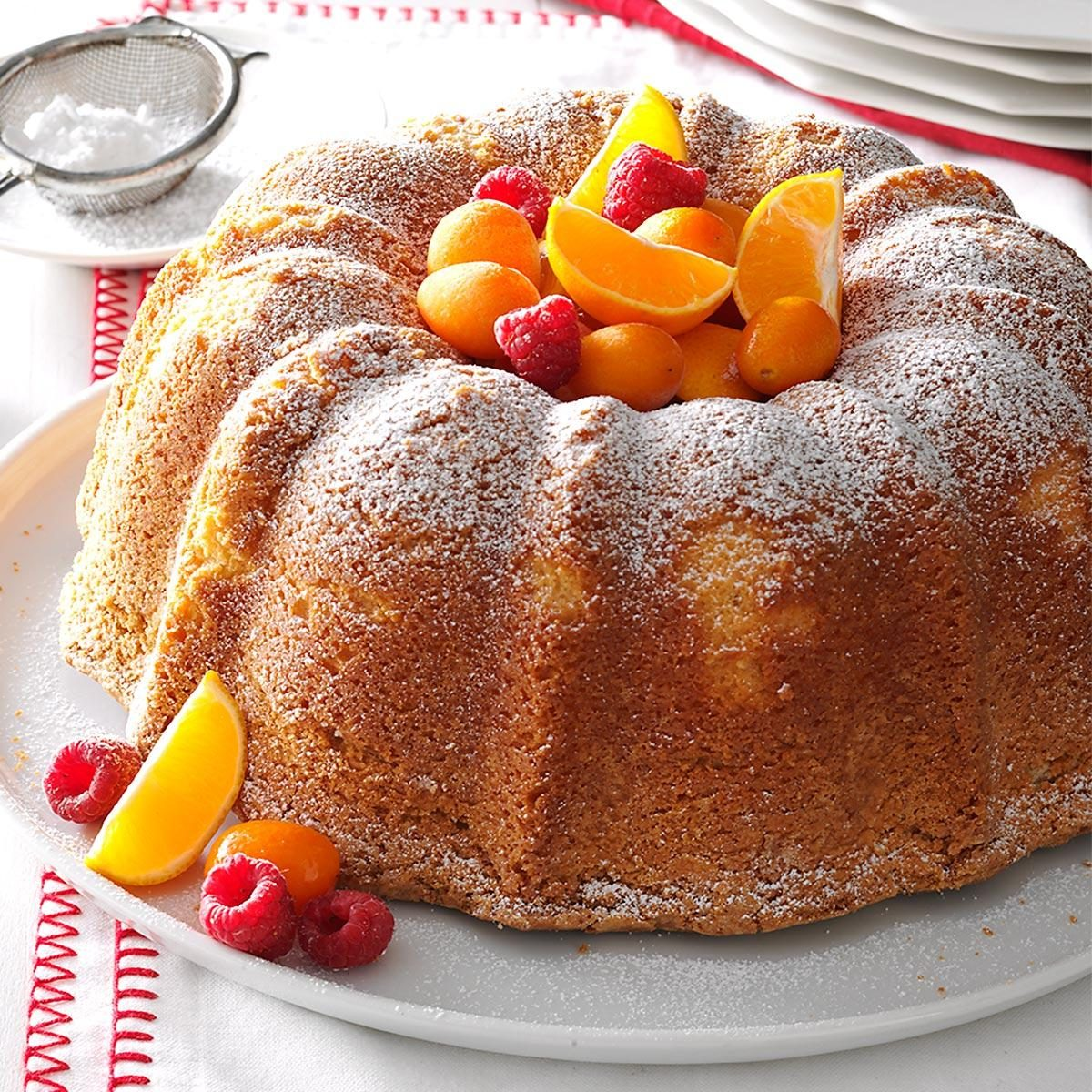 Sour Cream Angel Food Cake
