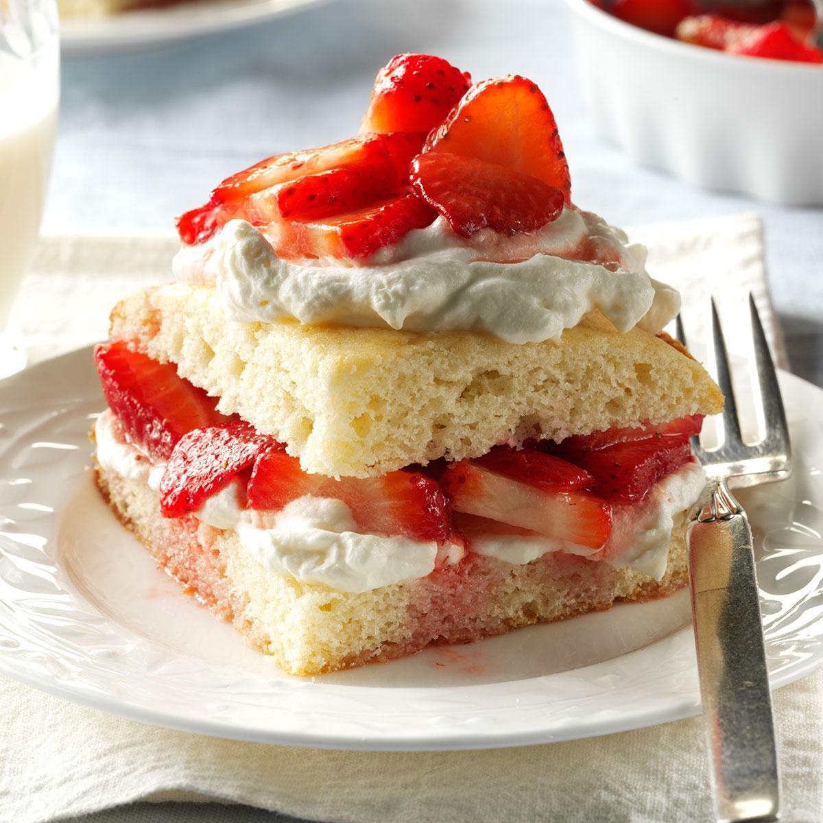 Strawberry Shortcake Recipe | Taste of Home