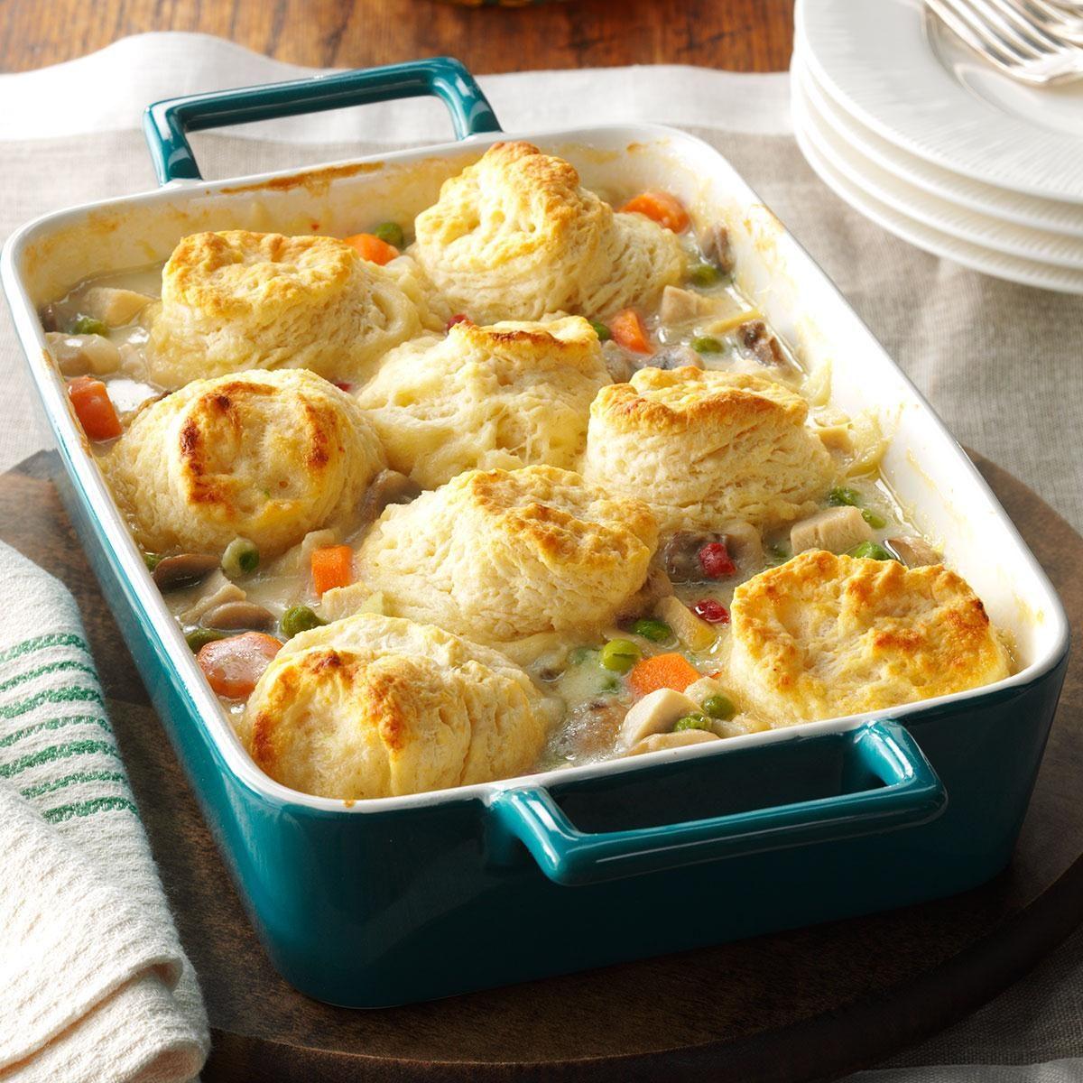 Easy chicken pot pie casserole recipes