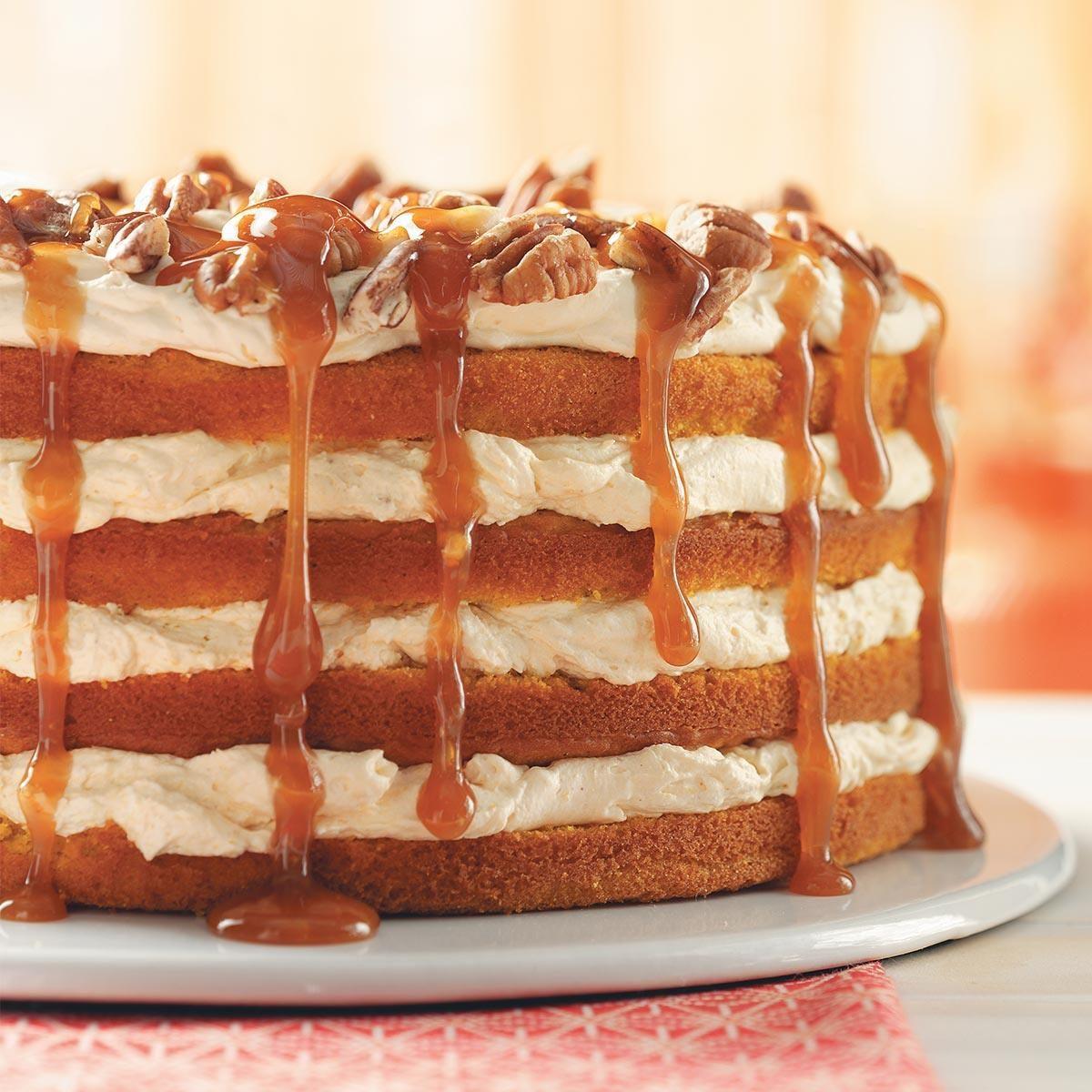 Pumpkin Torte Recipe
