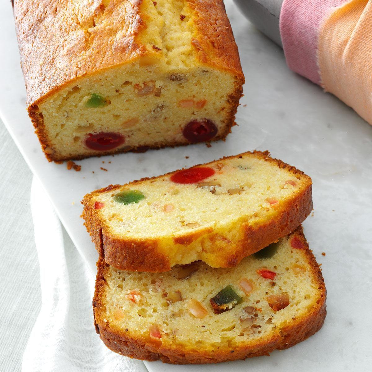 Eggnog Fruit Bread Recipe