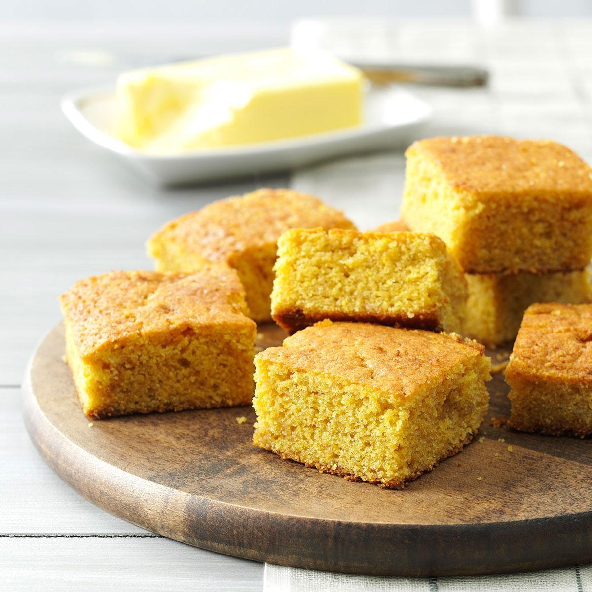 Quick Buttermilk Corn Bread Recipe | Taste of Home